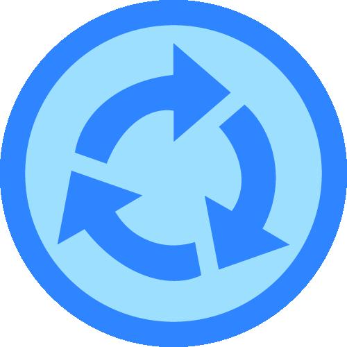 Badge retornante 3x