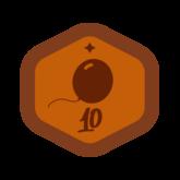 Badge VDX bronze