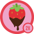 Badge sweet 2x