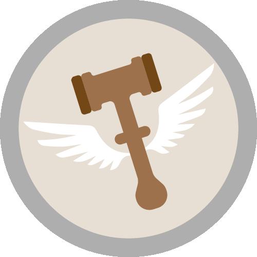 Badge perdeudesempate