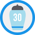 Badge urna30