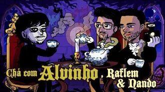 Chá com Alvinho 18 - Raflem Christian & Fernando Rodrigues - p.1