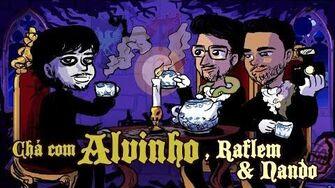 Chá com Alvinho 18 - Raflem Christian & Fernando Rodrigues - p