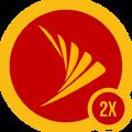 Badge sprint 2x