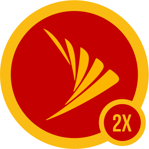 Badge sprint 2x