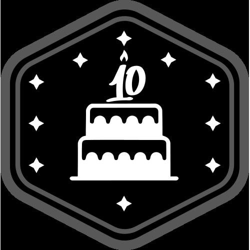 Badge VDX black