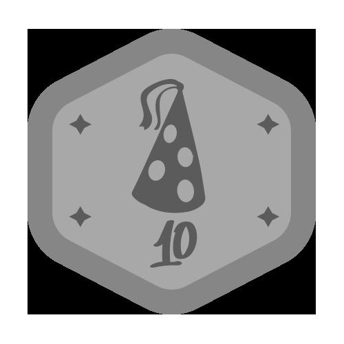 Badge VDX prata