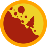 Badge landslide