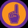 Badge fan