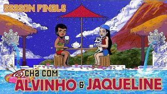 Chá com Alvinho - Finalista Jaqueline Maximilliano