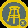 Badge final 3x