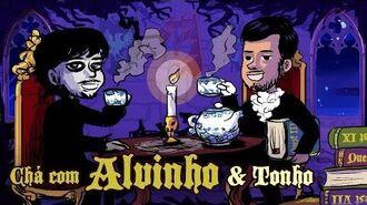 Chá com Alvinho 13 - Antonio Sabença