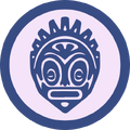 Badge idolo beneficiado