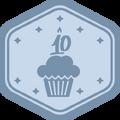 Badge VDX platina