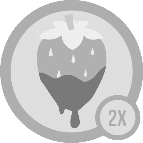 Badge sweet i 2x