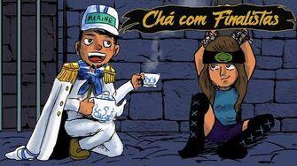 """Chá com Alvinho 16 - Finalistas - Aline """"Lii"""" Santos"""
