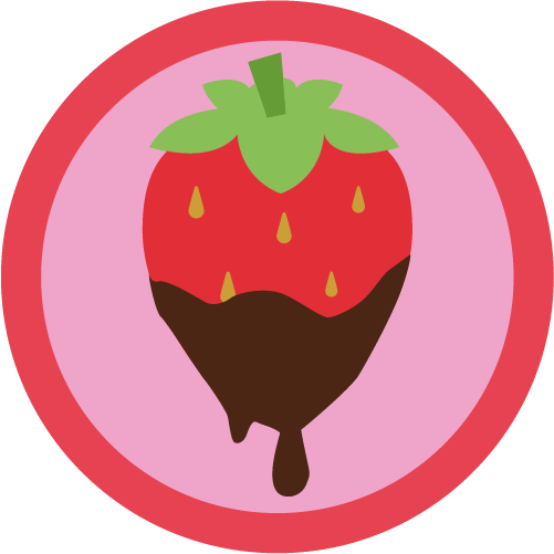Badge sweet