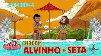 Chá com Alvinho 05 - Stéfane Mendes