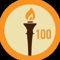 Badge 100dias