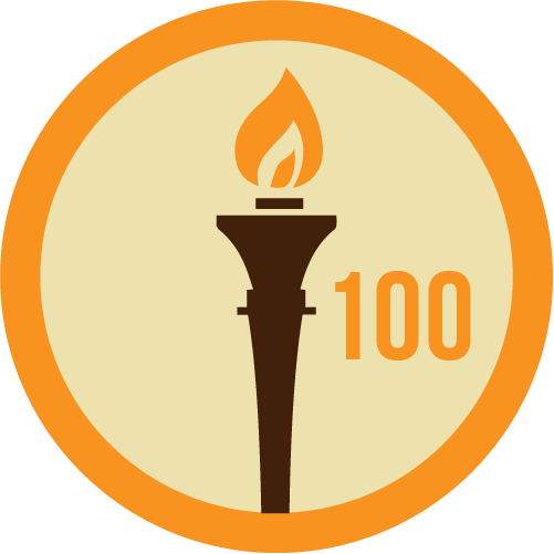 Badge 100dias
