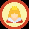 Badge rainha