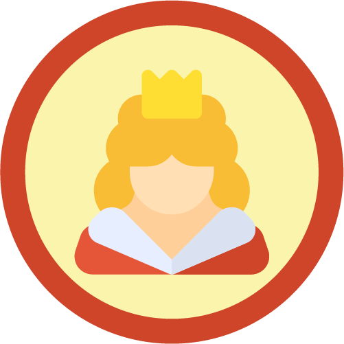 Badge rainha