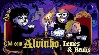 Chá com Alvinho 19 - Matheus Lemes e Bruna Ribeiro - p