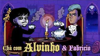 Chá com Alvinho 10 - Fabrício Almeida
