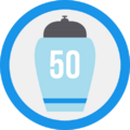 Badge urna50