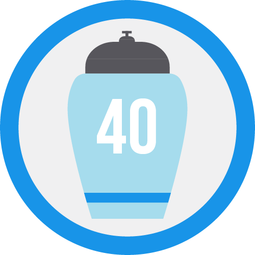 Badge urna40