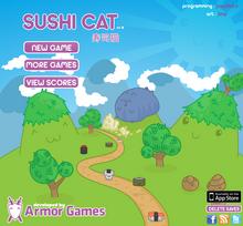 Sushi Cat Title