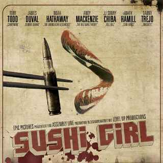 Sushi Girl poster.