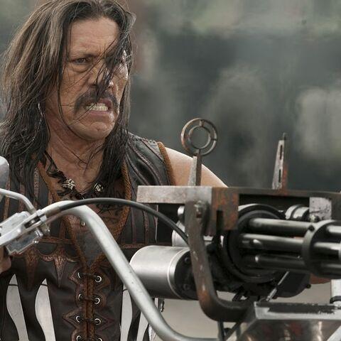 Danny as Machete.