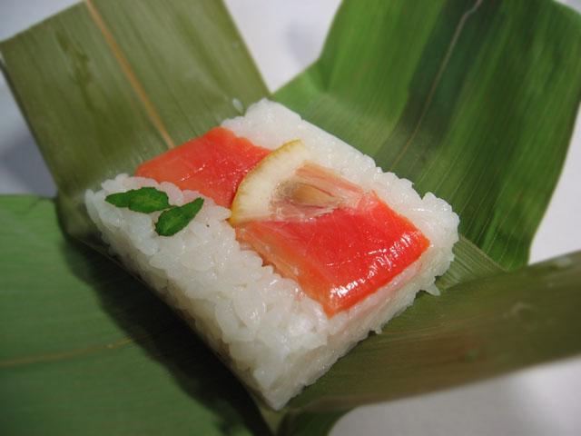 File:Sasa (bamboo leaf) sushi (笹寿司).jpg