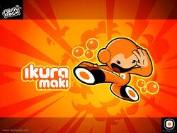 Ikura Maki Screensaver