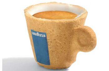 Edible Coffee Cup 2