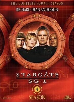SG-1 season 4 DVD
