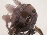 De gamla underhåll robot