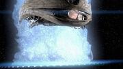 Kawoosh destroys ship