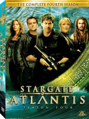 Atlantis season 4 DVD