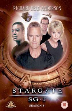 SG-1 season 8 R2 DVD