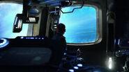 Scott in the shuttle