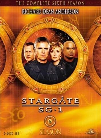 SG-1 season 6 DVD