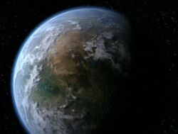 Celestis from space