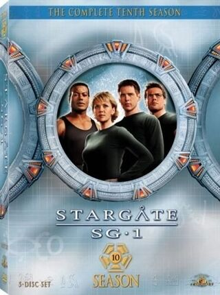 SG-1 season 10 DVD