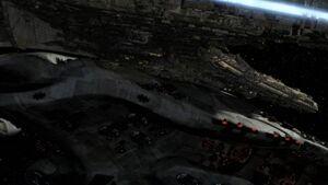 Destiny hits command ship