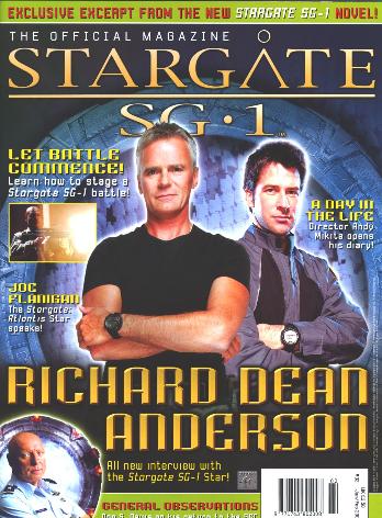 Stargate SG-1- The Official Magazine