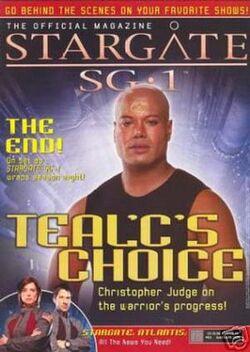 Stargate SG-1- The Official Magazine 3v