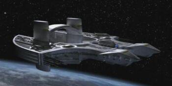 Asgard science ship