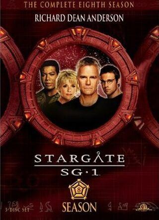 SG-1 season 8 DVD